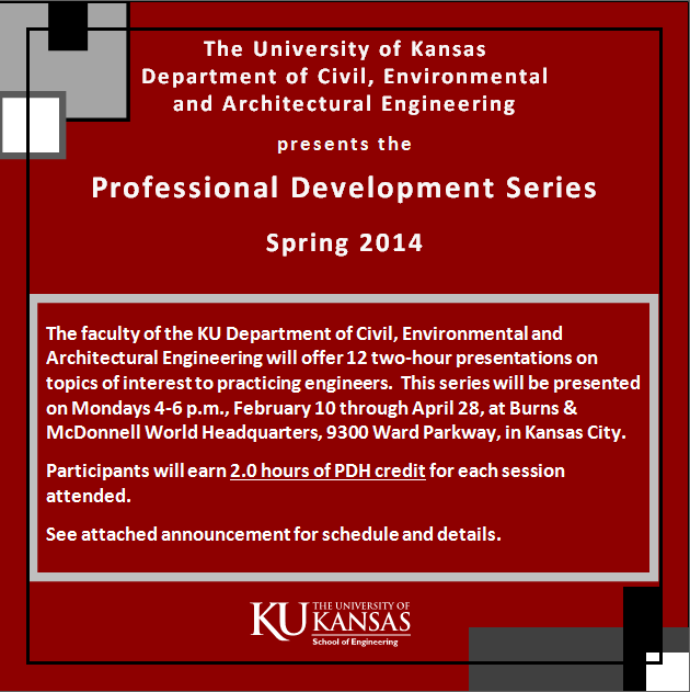 Professional Development Series Spring 2014